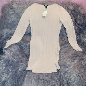 Cute Light Pink Stretch Bodycon Dress NWT Size L